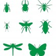 Insect set 02 — Stock Vector #18196009