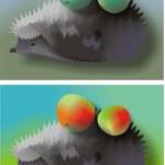 Image. Hedgehog — Stock Photo