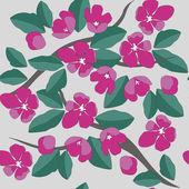 Vector. Seamless grunge flower texture — Stock Vector