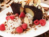 грушевый торт — Стоковое фото