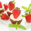 Strawberry cupcakes — Stock Photo #29651149