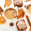 Christmas snacks — Stock Photo