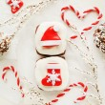 Christmas snacks — Stock Photo