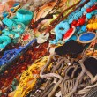 Necklace Market Place — Stock Photo