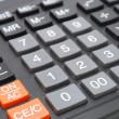 Calculator Closeup — Stock Photo