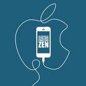 Apple Iphone — Stock Vector