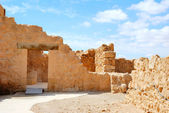 Ancient fortress Massada — Stock Photo