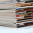 Magazines stack — Stock Photo #22010757