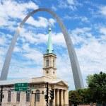 St. Louis sityscape — Stock Photo #22120617