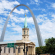 St. Louis sityscape — Stock Photo