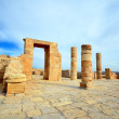 Remains of the Nabatean temple — Stock Photo