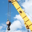 Crane Hook on a blue sky — Stock Photo #12792326