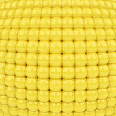 Abstract golden background made of shining plastic spheres — Stock Photo