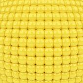 Abstact oro de brillantes esferas de plástico — Foto de Stock