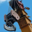 Crane Hook on a blue sky — Stock Photo