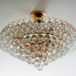 Close-up of a beautiful crystal chandelier — Stock Photo #23814701