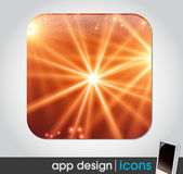 App icon for mobile devices — Stock Vector