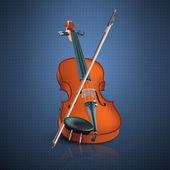 Violin — Stock Vector