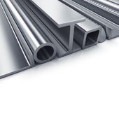 Rolled metal products — Stock Photo