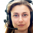Smiling customer support — Stock Photo #1216252
