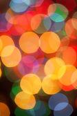 Unscharf gestellt abstrakte lichter weihnachten hintergrund — Stockfoto