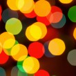 Defocused abstract lights christmas background — Stock Photo #15864743