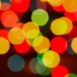 Defocused abstract lights christmas background — Stock Photo #15864747