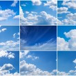 Sky daylight collection. — Stock fotografie