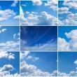Sky daylight collection. — Stock Photo