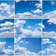 Stock Photo: Sky daylight collection.