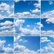 Sky daylight collection. — 图库照片 #39985909