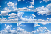 Sky daylight collection. — Stockfoto