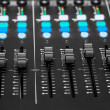图库照片: Audio Mixing Console