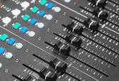 Audio-Mischpult — Stockfoto
