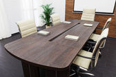 Conference table — Stockfoto