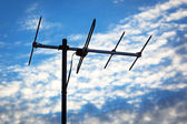 TV antenna — Stock Photo