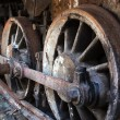 Rusty wheel — Stock Photo