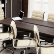 Conference table — Stock Photo
