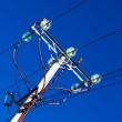Pole with electrical wires — Stock Photo #30387557