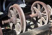 Old wheels — Stock Photo