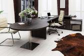 Desk at modern office — Stock Photo