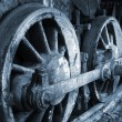 Rusty wheel — Stockfoto