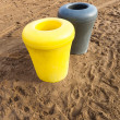 Trash cans — Stockfoto