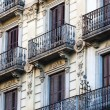 Beautiful balconies — Stock Photo