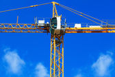 Nuova costruzione gru — Foto Stock