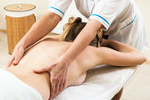 Massage girl — Stockfoto
