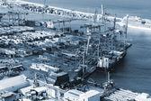 Modern seaport — Foto de Stock