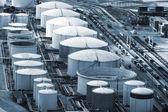 Een olie-opslag — Stockfoto