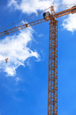 A building crane — Stock Photo