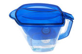 Blue water filter — Stock Photo